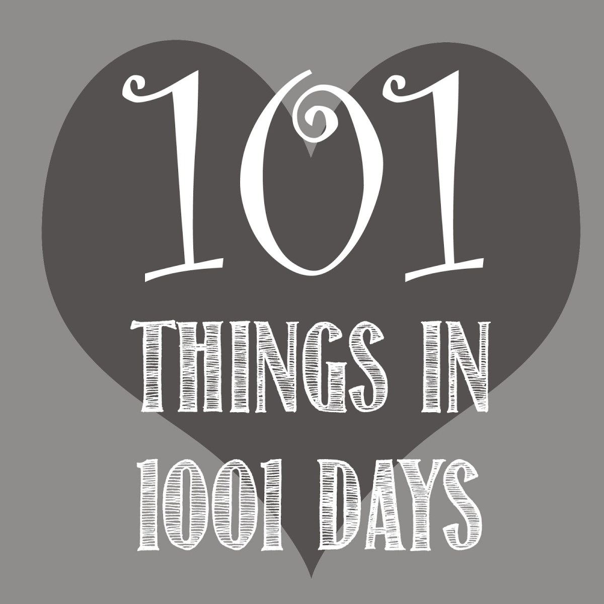 101 Things in 1001 Days - What exactly is it?